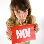 "What to Do When They Say ""No"" (Step by Step)"