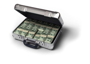 Creative Real Estate Investing Briefcase Full of Cash